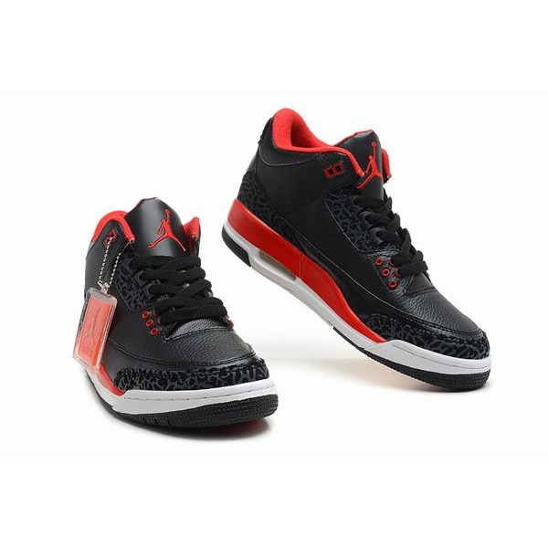 bcf10ce882b0 Air Jordan III (3) Retro Black White Red-78 - Jordans for Men