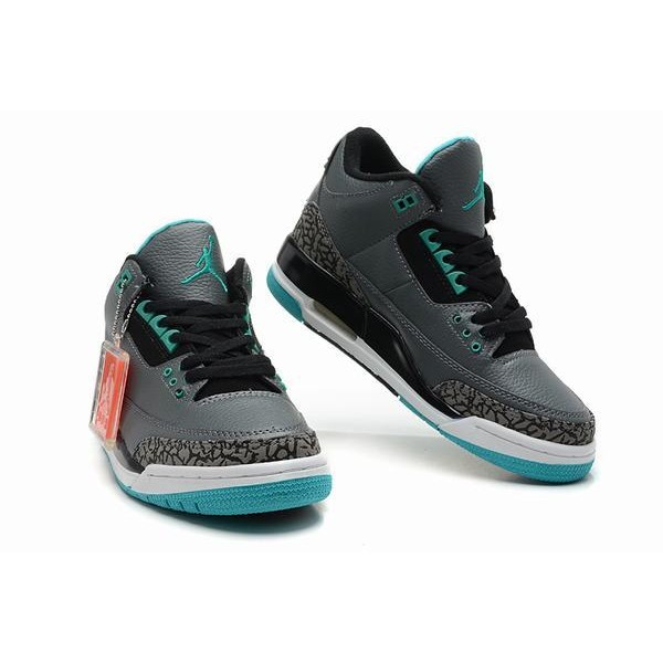 Air Jordan III (3) Retro Grey White Blue-82 - Jordans for Men 7da6650ea