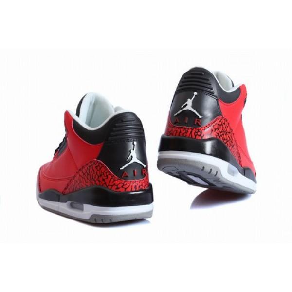 d8d3c5d9999ff4 Air Jordan III (3) Retro Red Black White - Jordans for Men