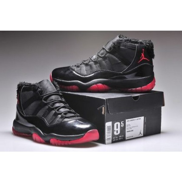 9c4e34dfef6e87 Air Jordan XI (11) Retro fur Black Red - Jordans for Men