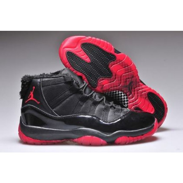 384c735db740 Air Jordan XI (11) Retro fur Black Red - Jordans for Men