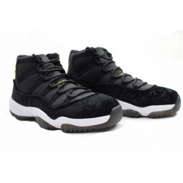 save off ee05d c2eea Air Jordans 11 HEIRESS Black Velvet - Jordans for Men