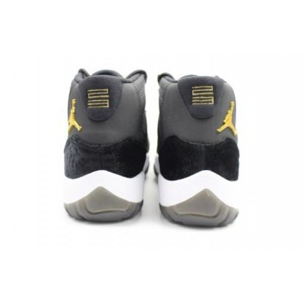 85d16679b59190 Air Jordans 11 HEIRESS Black Velvet - Jordans for Men