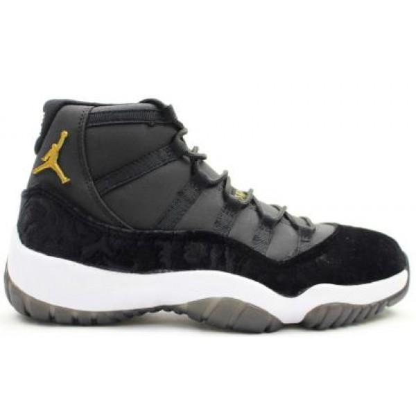 85d16679b59190 Air Jordans 11 HEIRESS Black Velvet - Jordans for Men
